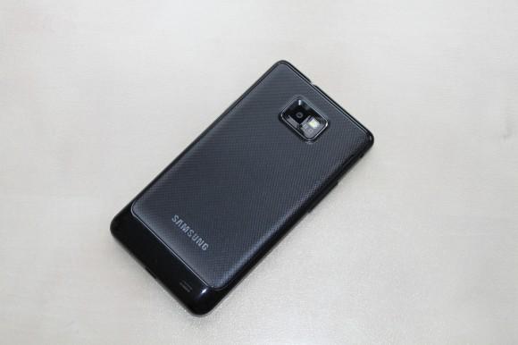 Samsung Galaxy SII hinten