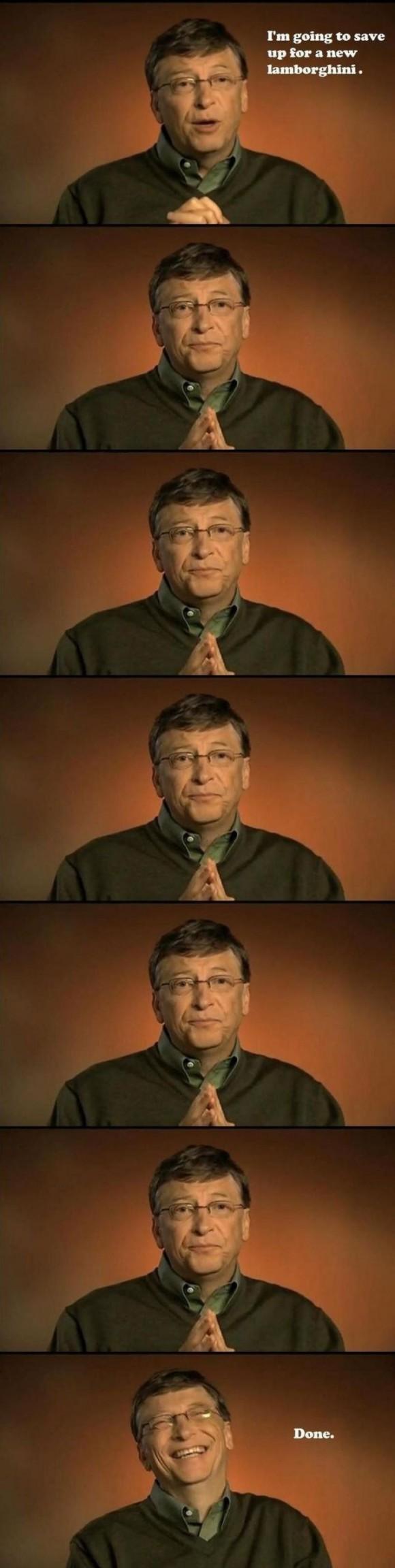 Bill Gates spart für einen neuen Lamborghini