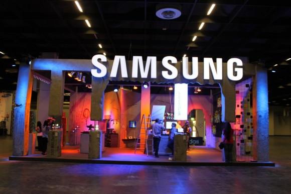 Gamescom Samsung Stand