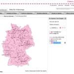 Netzabdeckung (3G: UMTS HSDPA & 4G: LTE) für Telekom, Vodafone, o2 und E-Plus prüfen