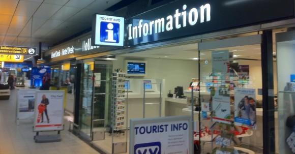 Tourist Information Flughafen Amsterdam-Schiphol