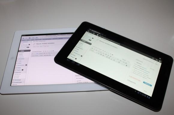 Wordpress bloggen iOS iPad Android Honeycomb