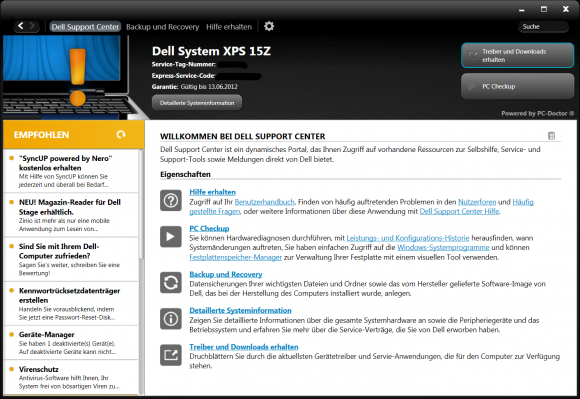 Dell Support Center Software