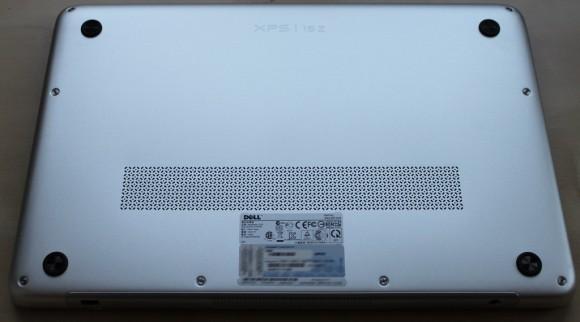 Dell XPS 15z Unterseite