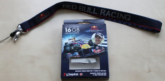 16GB Kingston Red Bull USB Stick mit Schlüsselband