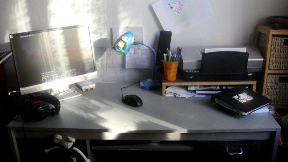 Erbsen-Tisch