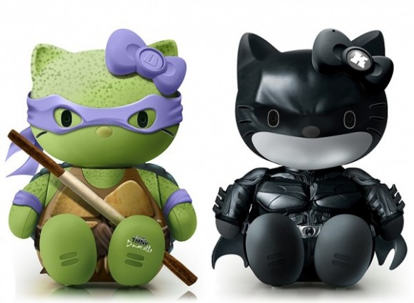 Hello Donatello and Hello Dark Knight