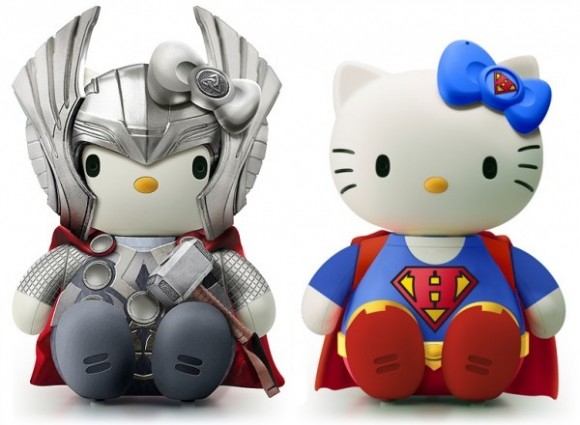 Hello Thor und Hello Super Kitty