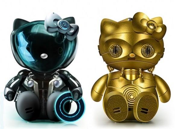 Hello Tron und Hello C3PO