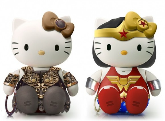Hello Xena und Hello Wonder Kitty