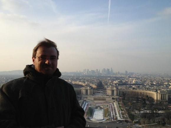 Ich auf dem Eiffelturm