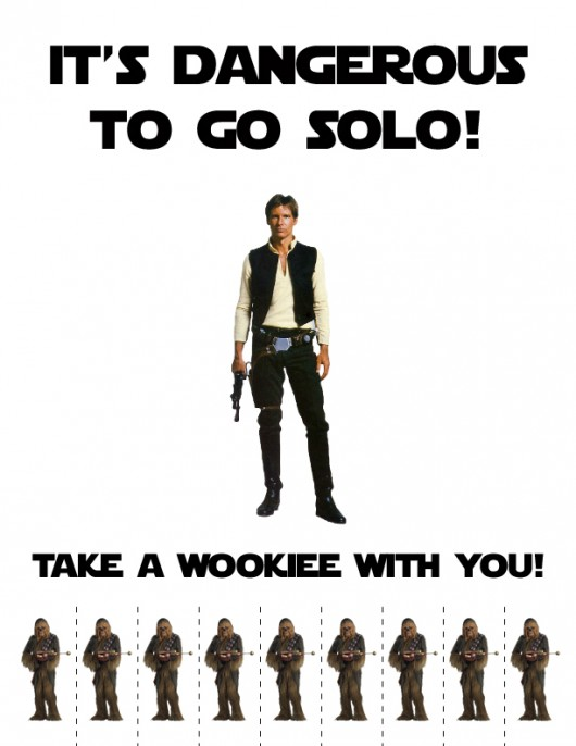 it's dangerous to to solo