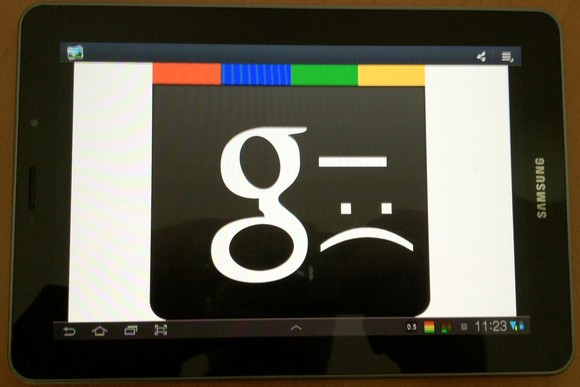 Unhappy Google+