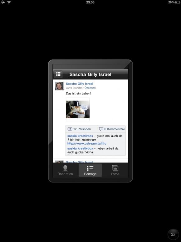 iPad Google+ App