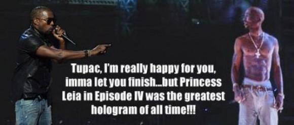 Kanye West Tupac Hologram