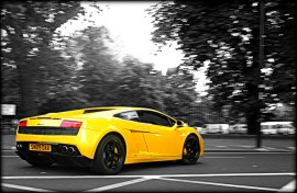 Lamborghini Gallardo yellow