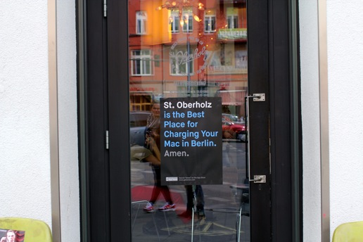 St Oberholz is the Best Place for Charging Your Mac in Berlin. Amen