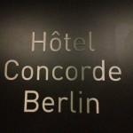 Zu Gast im Luxushotel Concorde in Berlin #concordecolours