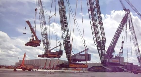 crane mobile kran mobile liebherr customer days kranception