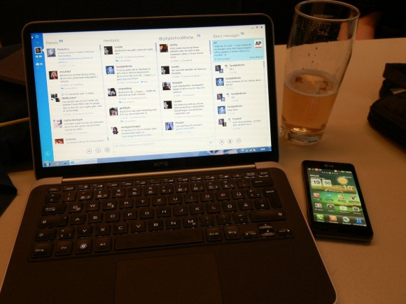 Dell XPS 13 Ultrabook im Oberholz 2