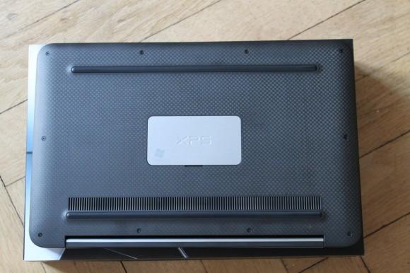 Dell XPS 13 Unterseite