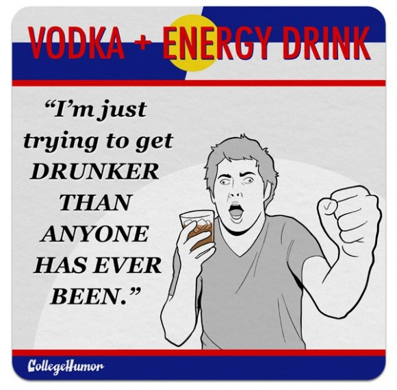 Vodka Energy Drink