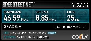 Speedtest.net 1&1