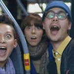 Sexy & Cool: Bus-Werbung