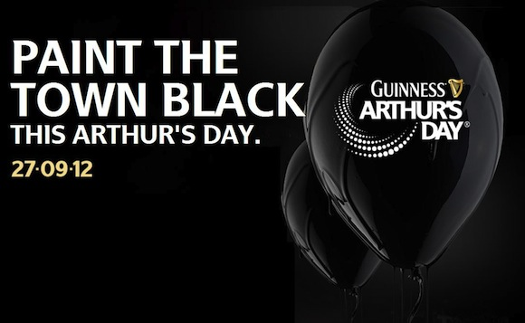 Guiness Arthur's Day 2012