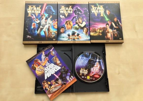 Star Wars Original Kinofassung DVD