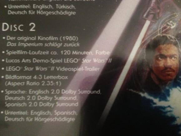 Star Wars Original Kinofassung DVD Limited