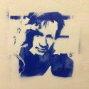 David Duchovny Streetart