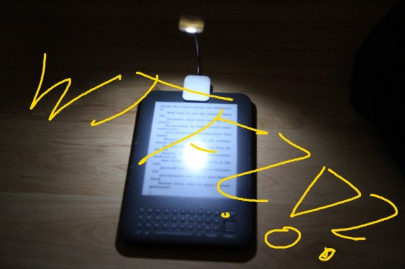 Kindle 3 mit LED