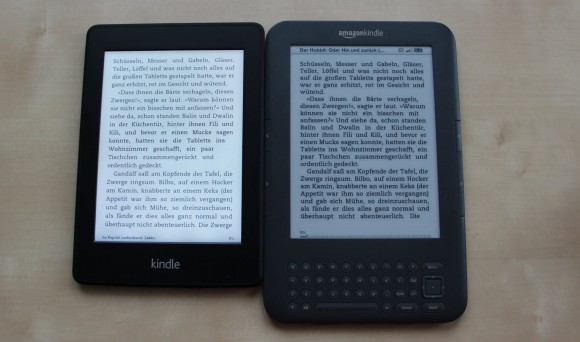 Kindle paperwhite vs Kindle 3 - Kindle keyboard