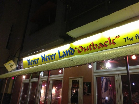 Never Never Land Outback