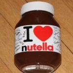 Verlosung: 11400 Gramm nutella