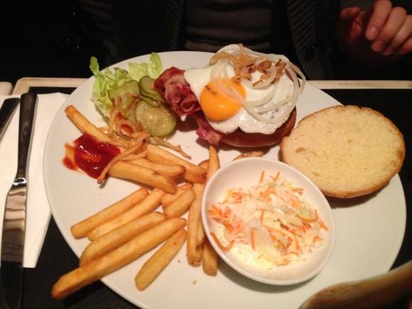 Breakfast Burger @ Zsa Zsa