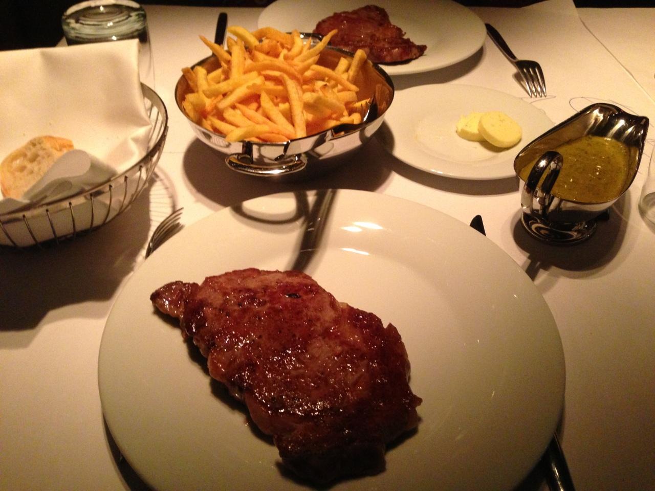 Ausprobiert  Restaurant La Maison de L entrecôte in Berlin-Mitte ... 86054ef8f288