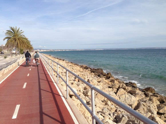 1 Von Palma de Mallorca nach Can Pastilla mit dem Fahrrad