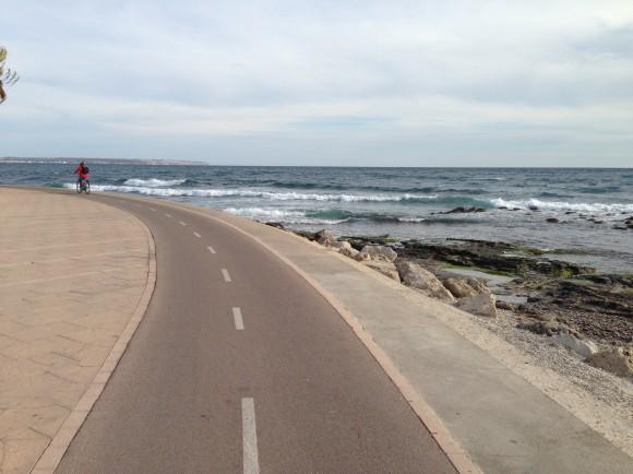 3 Von Palma de Mallorca nach Can Pastilla mit dem Fahrrad