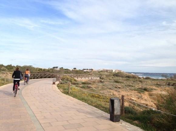 6 Von Palma de Mallorca nach Can Pastilla mit dem Fahrrad