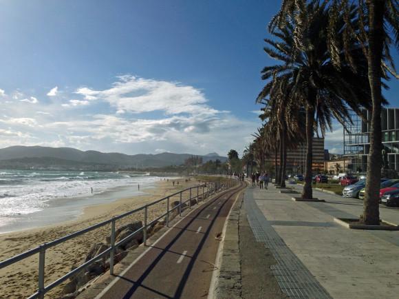 Von Can-Pastilla nach Palma de Mallorca