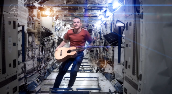 Space Oddities Major Tom  Chris Hadfield