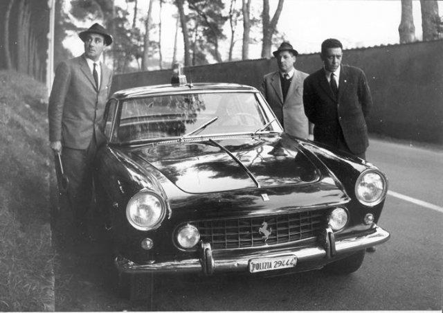 Americanexpress Com Reward >> Die Geschichte von Armando Spatafora und dem Ferrari 250 GTE der römischen Squadra Mobile ...