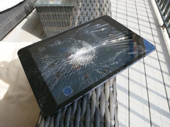 iPad Mini Glas kaputt - Displaybruch 2