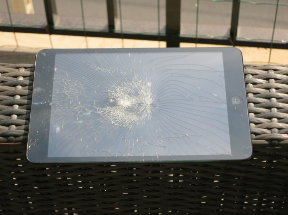 iPad Mini Glas kaputt - Displaybruch 4