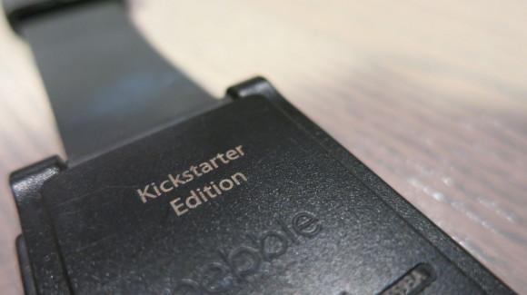 Pebble Kickstarter Edition