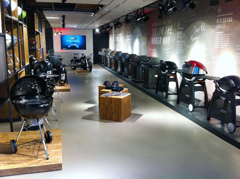 weber in berlin original store und grill akademie. Black Bedroom Furniture Sets. Home Design Ideas