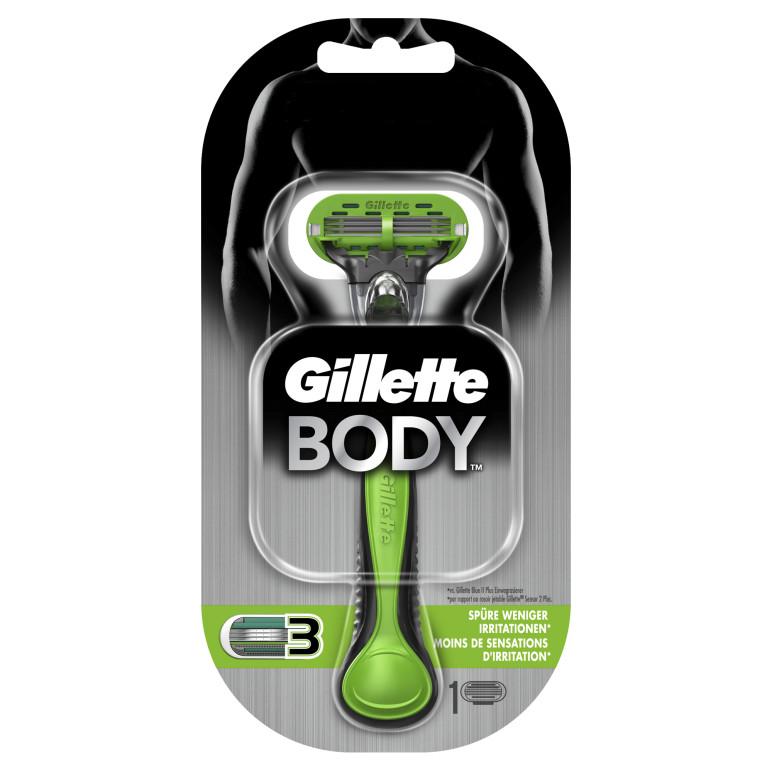 Gillette BODY Rasierer_Verpackung