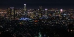 Los Angeles Time-Lapse bei Nacht